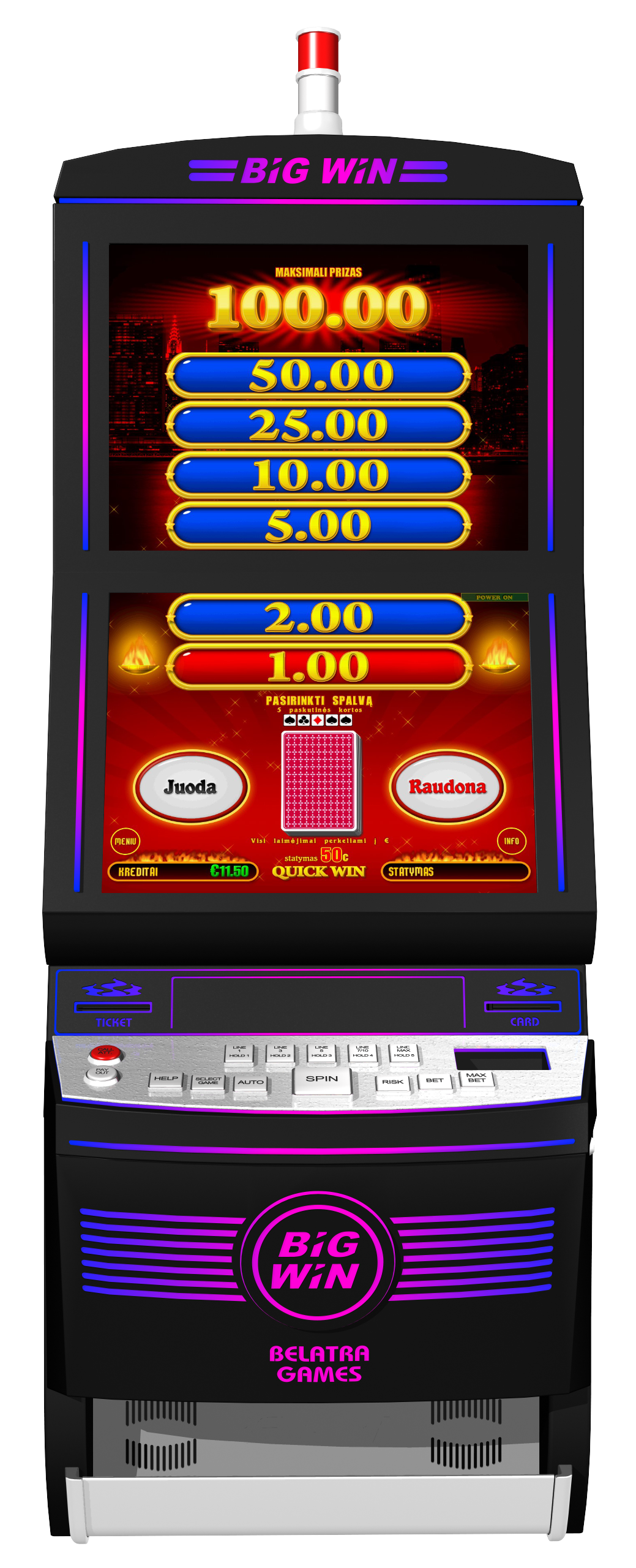 Play to win money at casino